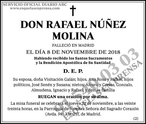 Rafael Núñez Molina